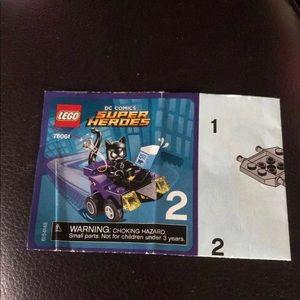 LEGO DC Comics Building Blocks Manual ONLY